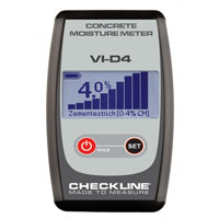vi-d4 concrete moisture meter